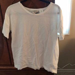Small White Short Sleeve T-Shirt